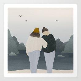 companions Art Print