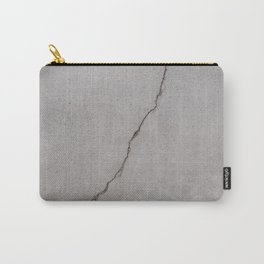 cracked concrete texture - cement stone Carry-All Pouch