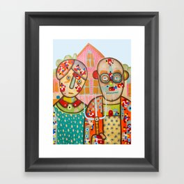 The American Gothic Framed Art Print