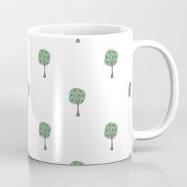 Scattered Trees Coffee Mug