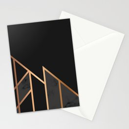 Black & Gold 035 Stationery Cards