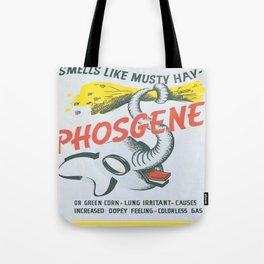 Vintage poster - Phosgene Tote Bag