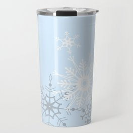 snowflake LOVE Travel Mug