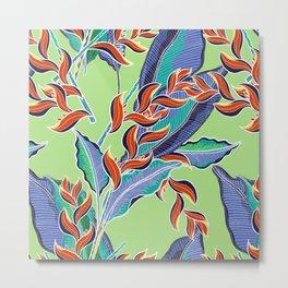 Hawaiian Floral Metal Print