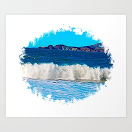 California Surf 2 Art Print