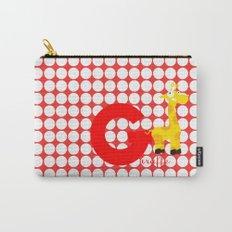 g for giraffe Carry-All Pouch