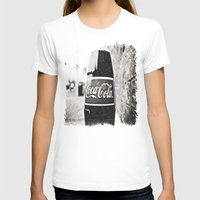 coca cola T-shirts featuring Coca-Cola closer by Vorona Photography