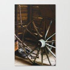 Wheel Canvas Print