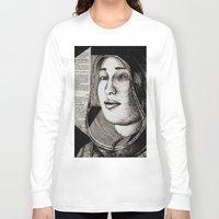 bianca Long Sleeve T-shirts featuring Bianca Davri by Anca Chelaru