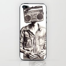 Radio-Head iPhone & iPod Skin