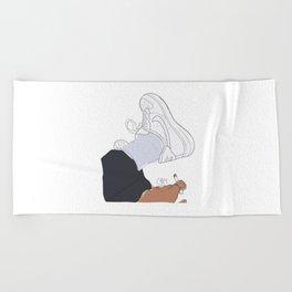 Sneakers Air Force 1 Beach Towel
