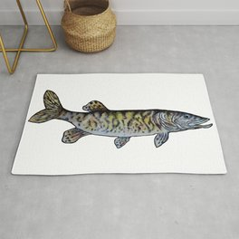 Musky Fish Rug