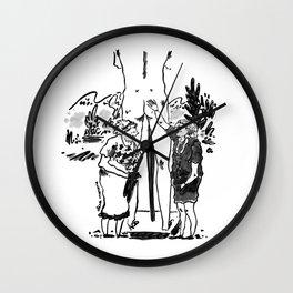 Ladies having fun Wall Clock