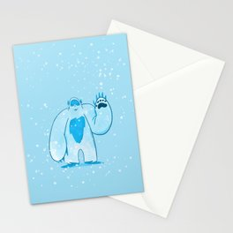 A is for: Abominable! Stationery Cards