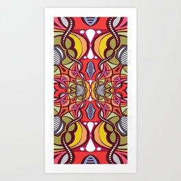 C13D Pattern Construct Art Print