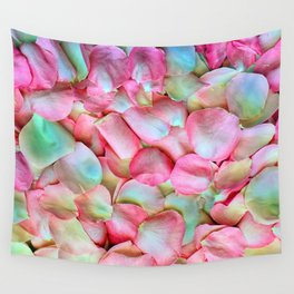 Soft Petals 2 Wall Tapestry