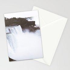 Niagra Falls on film Stationery Cards