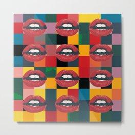 Twelve Mouths Metal Print