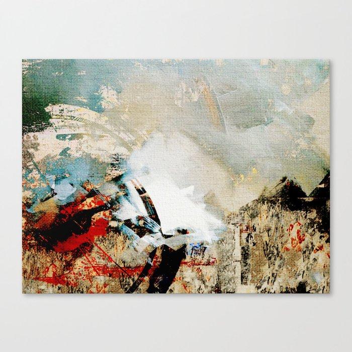Embouteillage Canvas Print