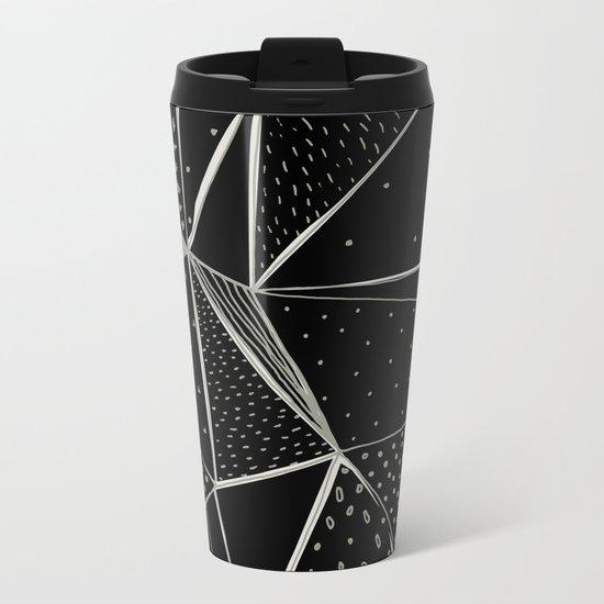 Abstract 07 Metal Travel Mug