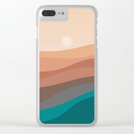 Landscape NC 03 Clear iPhone Case