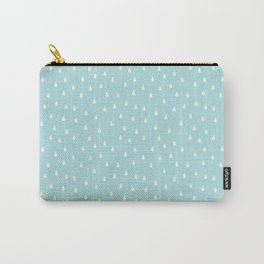 RAINDROPS DUCK EGG Carry-All Pouch