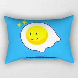 Felix The Ghost Egg Rectangular Pillow
