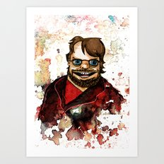 Guillermo del Toro Art Print