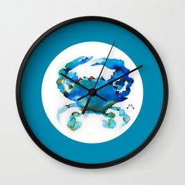 Watercolor 8 Wall Clock