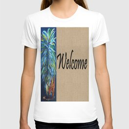WELCOME with PINEAPPLE T-shirt