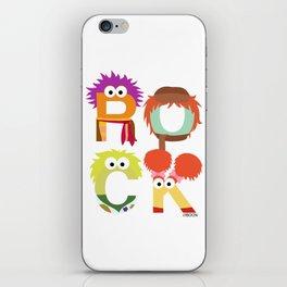 "A Fraggle ""ROCK"" iPhone Skin"