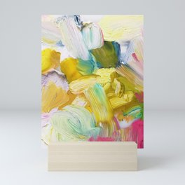 Lots of Feelings Abstract Painting Mini Art Print