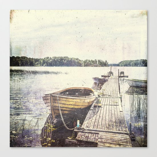 Boaty Canvas Print