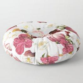 Vintage & Shabby Chic -Vintage Botanical Summer Garden    Floor Pillow
