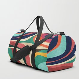 Impossible contour map Duffle Bag