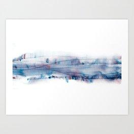 Gene wave Art Print