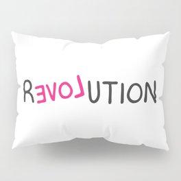 Revolution love pink grafitti Pillow Sham