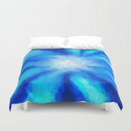 Tropical Sea Flower Duvet Cover