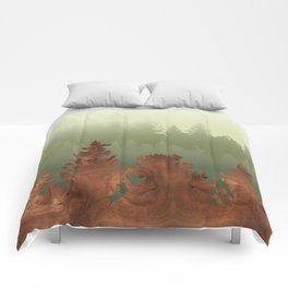 Treescape Green Comforters