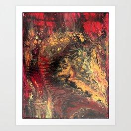 Face the  Decay - 16 x 20 Acrylic on Canvas Art Print