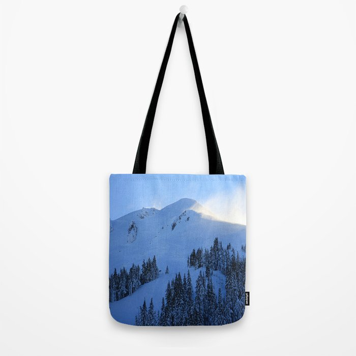 Ghosts In The Snow Tote Bag