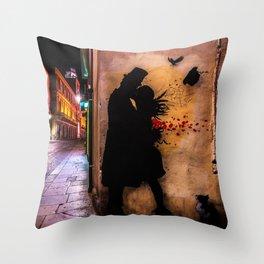 Tribute to Kennyrandom | Color Throw Pillow