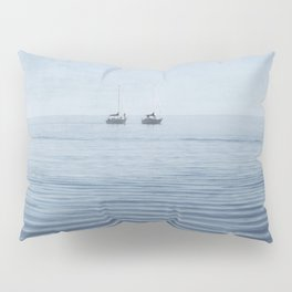 Sailing Yachts on Lake Ontario Pillow Sham