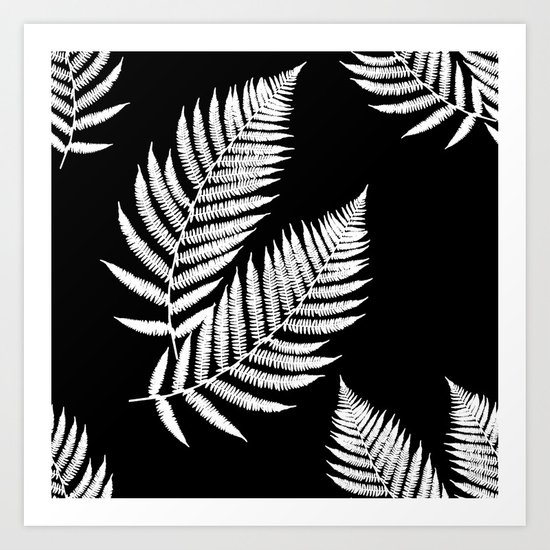Fern Pattern Art Print