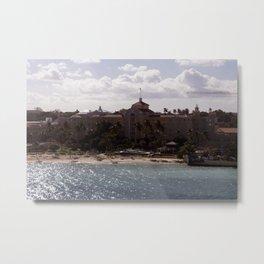Bahamas Cruise Series 90 Metal Print