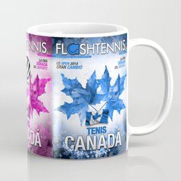 Flashtennis Magazine Cover of Tenis Canada Coffee Mug