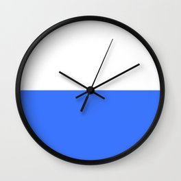flag of Cracow Wall Clock