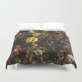The Depth of Disgust Duvet Cover