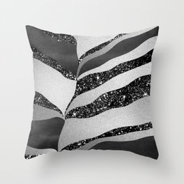 Desert Night Glam Stripes #2 #wall #decor #art #society6 Throw Pillow
