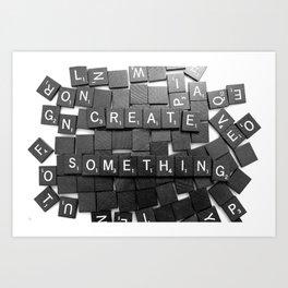 Anything Please Art Print